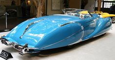 Special cars: Delahaye 175 S Saoutchik Roadster