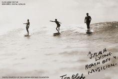 Tom Blake surf photo, circa 1930