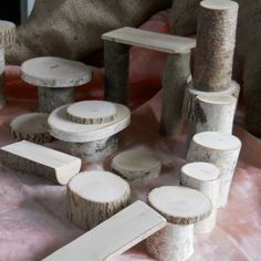 Natural Toys Branch Blocks Vermont Branch Block Building Set. $26.00, via Etsy. PLayground idea