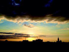 Going down | 5th floor sunset | Timisoara | Romania