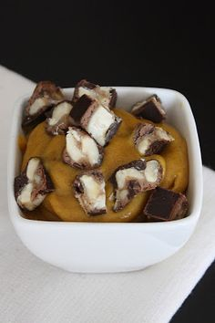 Vegan Pumpkin Pudding #vegan #pumpkin #recipe