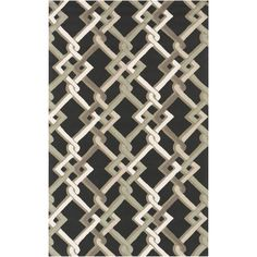 Bring luxury to your home with this contemporary area rug. Hand-Hooked with 100-percent polypropylene, this geometric designed rug will add a pop of color and the finishing touch to your décor.