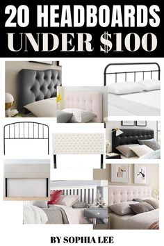 I love everything about decor but I'm definitely on a tight budget. I was on the hunt for headboards under $100 and came across this post which has so many great headboard options! College Apartment Bathroom, First Apartment Tips, First Apartment Essentials, Apartment Checklist, Apartment Kitchen, Apartment Ideas, Small Room Bedroom, Dorm Room, Neutral Bedroom Decor