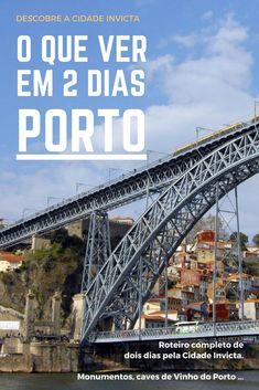 Descobre a #CidadeInvicta com este roteiro de dois dias pelo #Porto ! Uma das cidades da moda em #Portugal totalmente explicada para ti!