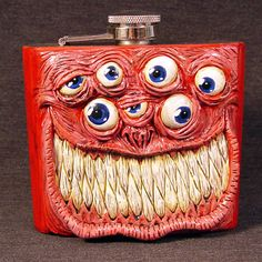 Demon Flask... or keepin' an eye out for a little nip