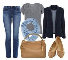 What to wear on a plane: outfit suggestions and advice for stylish air travel. Find out what to wear on a plane, and how to look good at the airport. Mode Outfits, Fashion Outfits, Womens Fashion, Fashion Capsule, Petite Fashion, Runway Fashion, Fashion Trends, Look Fashion, Autumn Fashion