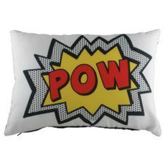 Buy Pop Art Cartoon Pow Cushion from our Cushions range - Tesco.com