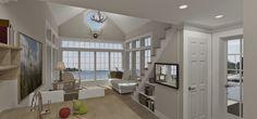 Dreams & Coffees arkitekt- och projektblogg: New England hus med sjöutsikt