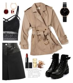 """Coat"" by garz on Polyvore featuring Helmut Lang, MICHAEL Michael Kors, Michael Kors and Maybelline"