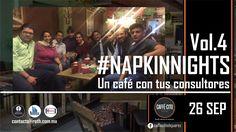 Gracias por acompañarnos. #NapkingNights Vol. 4