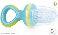 Alimentador baby, perfeito para introduzir alimentos sólidos na alimentação do bebê. Possuí sistema de travamento e reduz o risco de engasgo: Cat. Baby - Pág. 109, Ref. NB05397_Verde