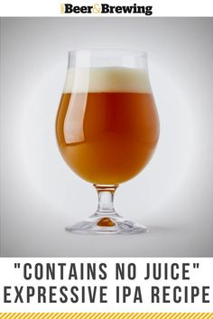 """Alvarado Street Brewery's Double IPA is a total """"juice bomb"""" without the juice (and rated at a on Untappd)! Brewing Recipes, Homebrew Recipes, Beer Recipes, Recipies, Ipa Recipe, Most Popular Beers, Beer Dip, Double Ipa, Homemade Wine"""