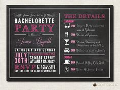 Hey, I found this really awesome Etsy listing at http://www.etsy.com/listing/160000350/bachelorette-invitation-bachelorette