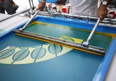 Hermés' Festival des Metiers made it's way to San Francisco Silk Screen Printing, Printing On Fabric, San Francisco, Leather Workshop, Printed Matter, Art Graphique, Photo Diary, Textile Prints, Artwork Prints