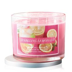 Sparkling citrus!Refresh and awaken with nodes oflemon, pink pomelo, guava, frosted sugar and fluffy vanilla!Summer Home Fragrance Collection:Island breeze, sunshine, and sweet fruity smells fill this collection of candles.Our Summer Home Fragrance Collection features sweet and delightful scents to fill any home with summer. Each candle is a 3-wick, 11 oz. candle with about 30 hrs of burn time.FEATURES•Notes oflemon, pink pomelo, guava, frosted ...