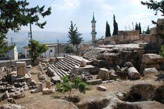 Roman temple of Qsarnaba, near Zahle