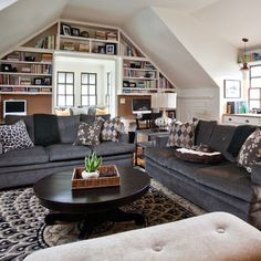 Decorating Bonus Room Above Garage | Room Over Garage Design Ideas ...