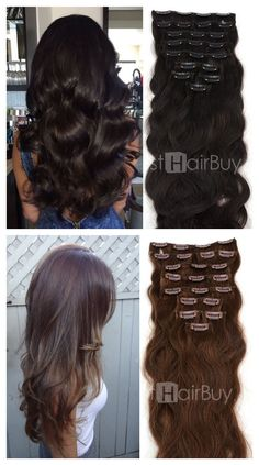 Get This Look With Remy Clips Custom Clip In Hair Extensions Create Beautiful
