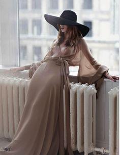 Julia Hafstrom by Emma Tempest for Elle UK