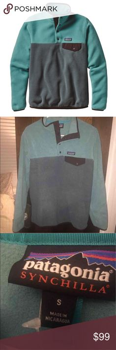 Patagoina Syncilla Brand new this season. Tags still attached. Never been worn. For sale on Mercari for $80.   No trades and no low ball offers. Patagonia Sweaters