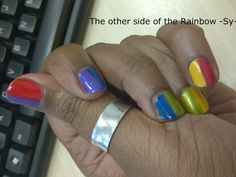 Hello Dazzling...: Other side of the rainbow
