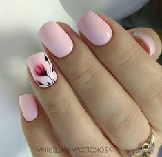 neon french tip nails short * neon french tip nails short ; neon french tip nails coffin short ; neon green french tip nails short Stylish Nails, Trendy Nails, Cute Nails, My Nails, Dark Nails, Short Nail Designs, Nail Designs Spring, Nail Designs Floral, Floral Nail Art