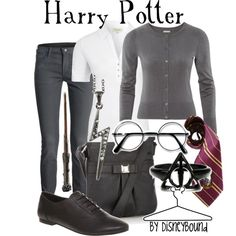 Harry Potter, created by #lalakay on polyvore.com