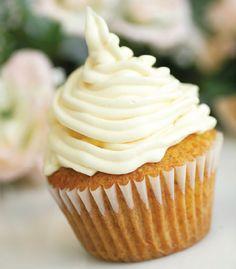 Vanilla Latte Cupcakes with recipes for Espresso filling and Vanilla Espresso frosting