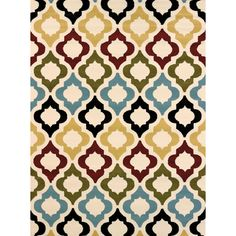 Bring beautiful color and style to your home with this gorgeous area rug, crafted in Turkey from durable polypropylene. This Teresa rug is the perfect finish touch to any home decor.