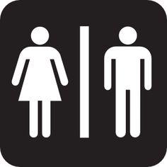 Male Female Boy BathroomBathroom SignsGender