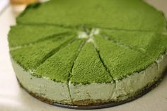 bits and pieces: Green Tea Mousse Cake