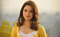 Tamanna Bhatia looks awesome in yellow dress