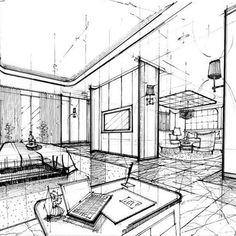 We have an absolutely talented group of designers. Here is one fab example of just that. #5starhotel #hospitalitydesign #sketch #handsketching #interiordesigndubai #interiordesignbangkok #kristinazanicconsultants