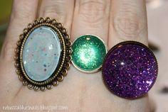 Nail polish jewellery