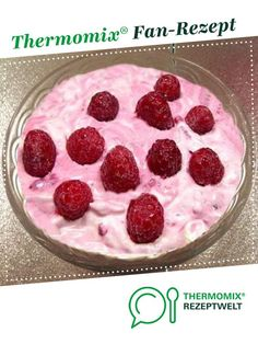 Himbeer-Quark-Dessert von PThermo. Ein Thermomix ®️️ Rezept aus der Kategorie Desserts auf www.rezeptwelt.de, der Thermomix ®️️ Community.