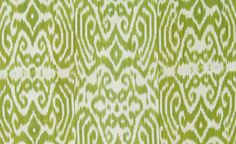 Madeline Weinrib ikat fabric to the trade