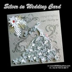wedding dress - by: Susan Quilling