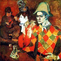 """1905 Au """"Lapin Agile"""" de Pablo Picasso"""