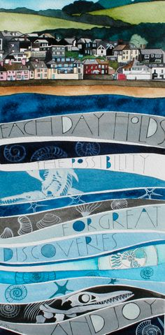 Lyme Regis pictures « Sam Cannon Art - each day holds the possibility for great discoveries and joy