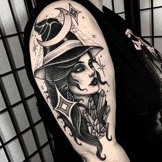 Tattoo submission by Angelo Parente Dream Tattoos, Badass Tattoos, Time Tattoos, Body Art Tattoos, Sleeve Tattoos, Tattoos For Guys, Tattoos For Women, Cool Tattoos, Wizard Tattoo