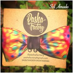 Tapiz Bow Tie. Tradition, craft and fashion Wayuu. Designed by @Pashafactory. Available now right! www.solamado.us