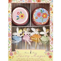 Feen Cupcake Set
