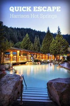 With soothing spa & natural hot springs our BC resort hotel is the ultimate retreat. Re-discover relaxation at this British Columbia resort hotel. Hot Springs Arkansas, British Columbia, The Places Youll Go, Places To See, Banff Canada, Spring Resort, Roadtrip, Future Travel, Canada Travel