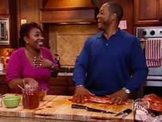 The Neelys share their famous family recipe for barbecued ribs.   This video is part of   Down Home with the Neely's show   hosted by Pat Neely . SHOW DESCRIPTION :Pat and Gina Neely and their family own and operate some of Tennessee's best ¿ and most devilishly delicious ¿ BBQ restaurants. So, it's no surprise that when they are relaxing at hom...