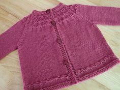 Baby Sweater Patterns, Baby Cardigan Knitting Pattern, Knitted Baby Cardigan, Knit Baby Sweaters, Baby Knitting Patterns, Baby Patterns, Baby Knits, Knitting For Kids, Free Knitting