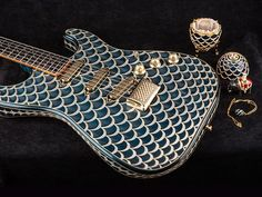 Fender million dollar guitar _ Pine Cone Stratocaster