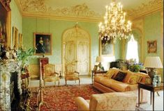 The Earl married Cora, a wealthy American heiress, because he needed her money to keep the estate running. A house like this is expensive to maintain!
