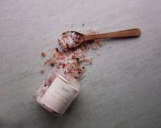 FLORAL BATH SOAK Floral Bath, Bath Soak, How To Make, Handmade, Bath Salts, Hand Made, Handarbeit