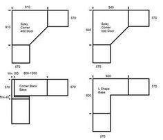 Dimensions of 36 Corner Sink Base Cabinet? | Kitchen Remodel ...