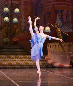 Sharon Wehner in the Colorado Ballet's rendition of The Nutcraker. Photo by Mike Watson